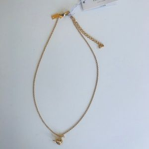 Kate spade Origami Swan Necklace- New with Tags